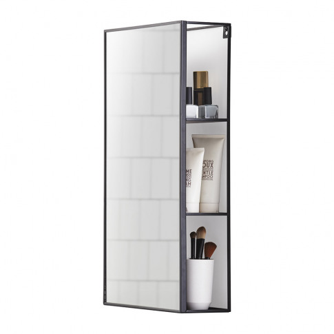 Umbra - Cubiko Mirror and Storage Unit
