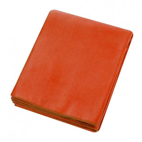 Zoeppritz Since 1828 - Soft Fleece Blanket - Papaya