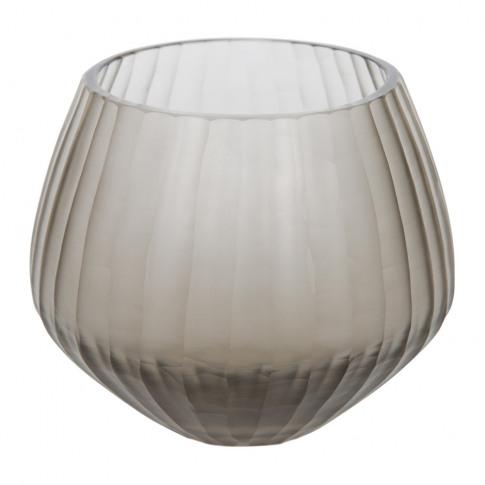 A By Amara - Frogmore Glass Votive - Smoke