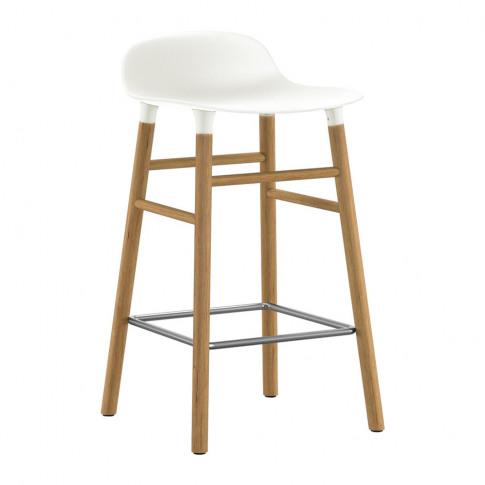 Normann Copenhagen - Form Barstool - Oak - White