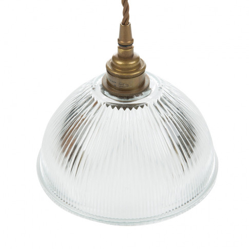 Old School Electric - Dome Prismatic Pendant Light -...