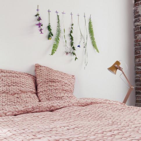 Snurk - Twirre Duvet Set - Dusty Pink - Single