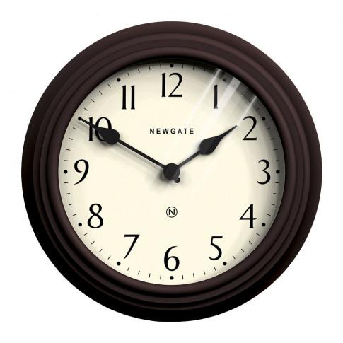 Newgate Clocks - Pimlico Wall Clock - Chocolate Black
