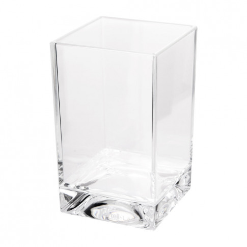 Kartell - Square Toothbrush Holder - Transparent