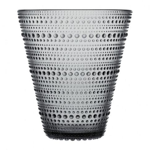 Iittala - Kastehelmi Vase - 15cm - Grey
