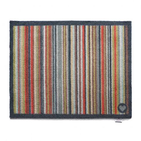 Hug Rug - Stripe Washable Recycled Door Mat - Multi ...