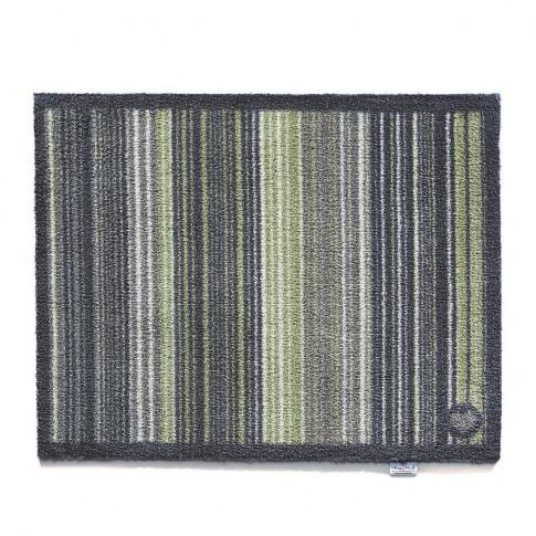 Hug Rug - Stripe Washable Recycled Door Mat - Green ...