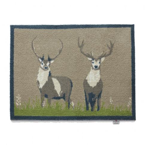 Hug Rug - Deer Washable Recycled Door Mat - 65x85cm