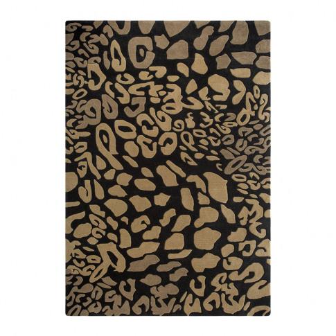A By Amara - Animal Print Rug - Natural - 140x200cm