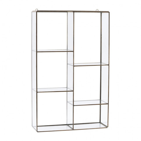 House Doctor - Hanging Wall Storage Unit - 6 Compart...
