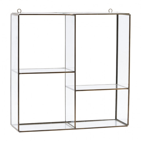 House Doctor - Hanging Wall Storage Unit - 4 Compart...