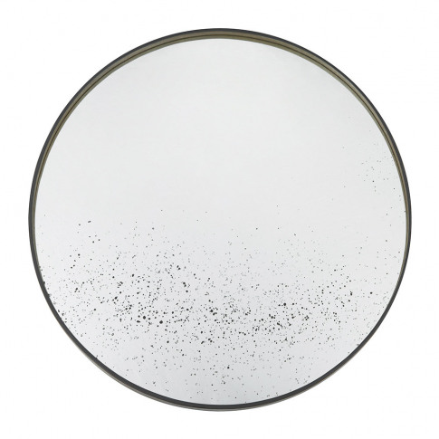 Ethnicraft - Large Round Aged Mirror - Light Clear