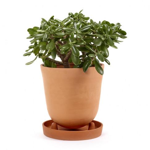 Serax - Conical Plant Pot & Saucer