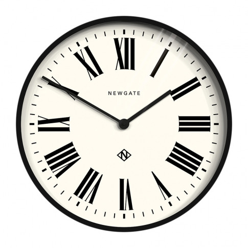 Newgate Clocks - Number One Italian Wall Clock - Black