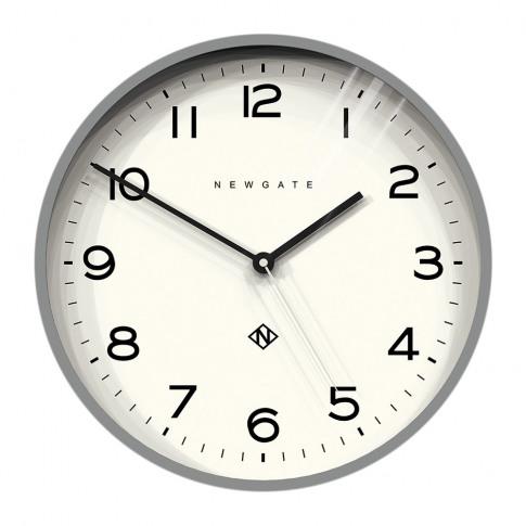 Newgate Clocks - Number Three Echo Wall Clock - Grey