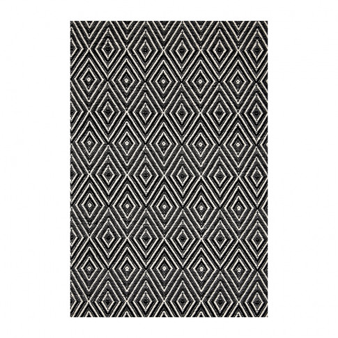 Dash & Albert - Diamond Indoor/Outdoor Rug - Black/I...
