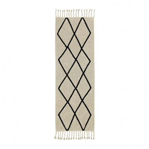 Lorena Canals - Bereber Washable Runner Rug - Beige ...