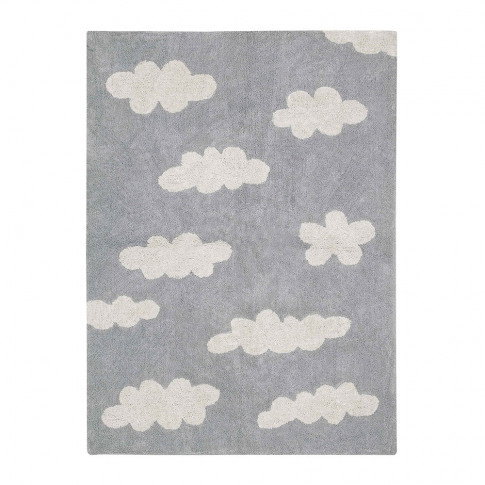 Lorena Canals - Clouds Washable Rug - Grey - 120x160cm