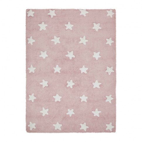 Lorena Canals - Star Washable Rug - 120x160cm - Pink