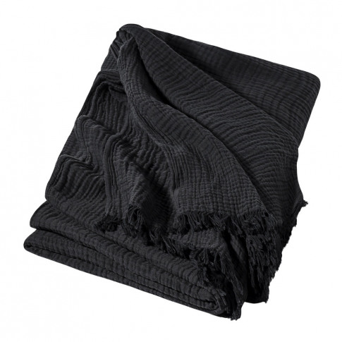 Hay - Crinkle Bedspread - Anthracite