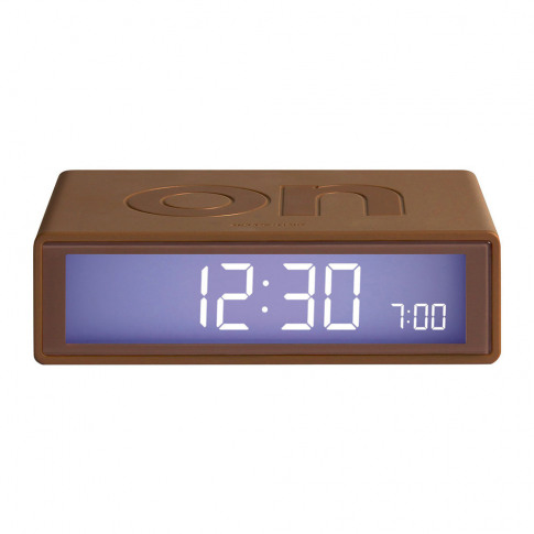 Lexon - Flip Clock - Copper