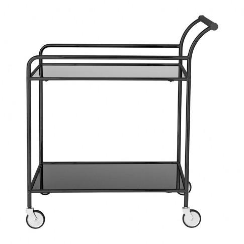 Bloomingville - Fine Bar Trolley Table - Black