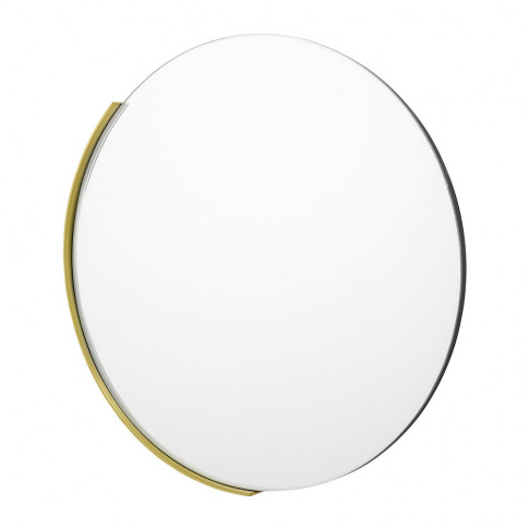 Bloomingville - Round Glass Mirror - Clear