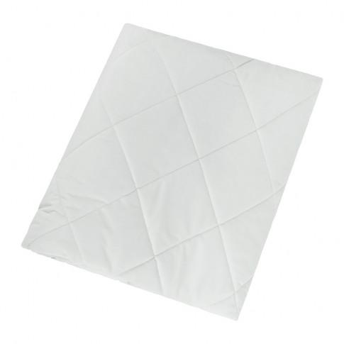 A By Amara - Diamond Velvet Bedspread - Cloud - 140x...