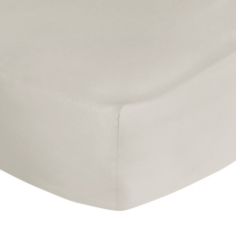 A By Amara - Egyptian Cotton Fitted Sheet - Ivory - ...