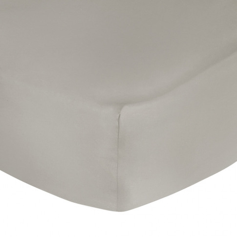 A By Amara - Egyptian Cotton Fitted Sheet - Taupe - ...