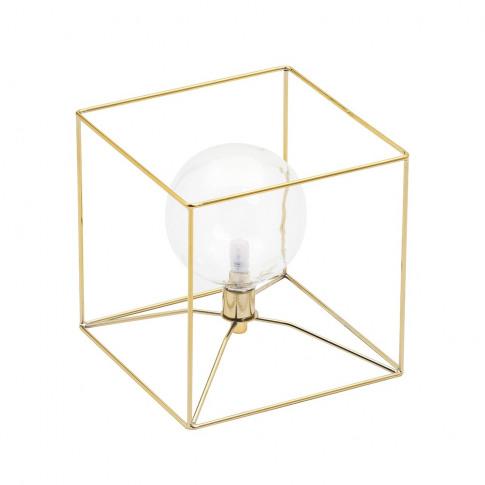 Bodhi Table Lamp, Brass