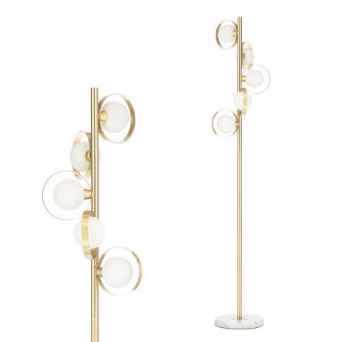 Otta Floor Lamp, Brass