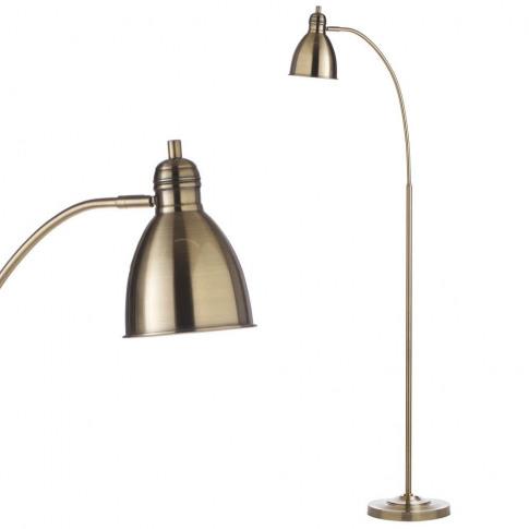 Leryn Floor Lamp, Brass