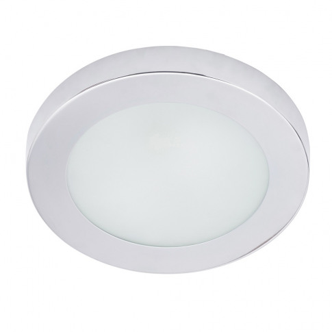 Nimbus Small Bathroom Flush Ceiling Light, Chrome