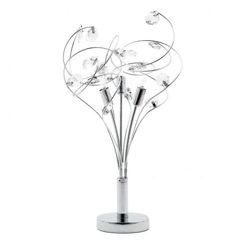 Othello Table Lamp, Chrome