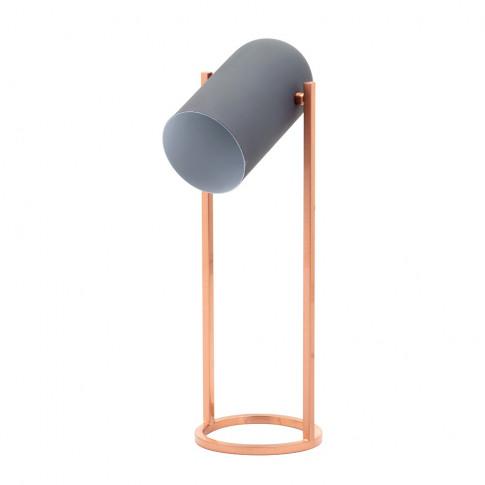 Telfer Table Lamp, Grey