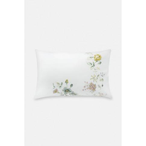 Pillowcase X 2 Pembroke Rose White