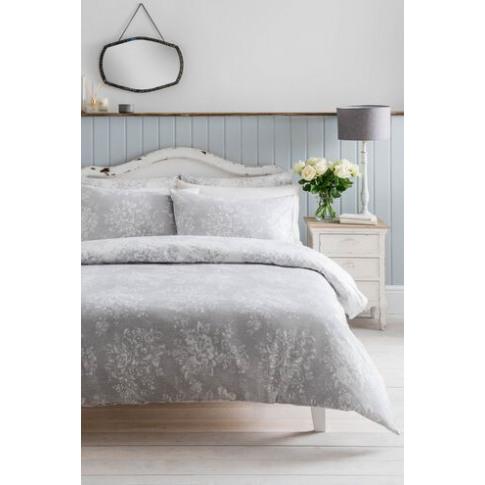 Pillowcase X 2 Washed Rose Grey