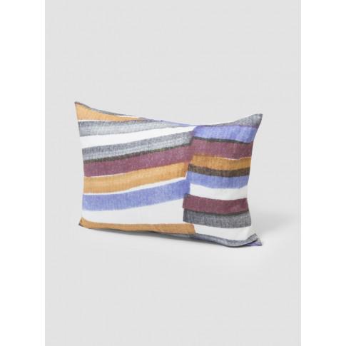 Couverture x Samuji Elektra Stripe Linen Cushion
