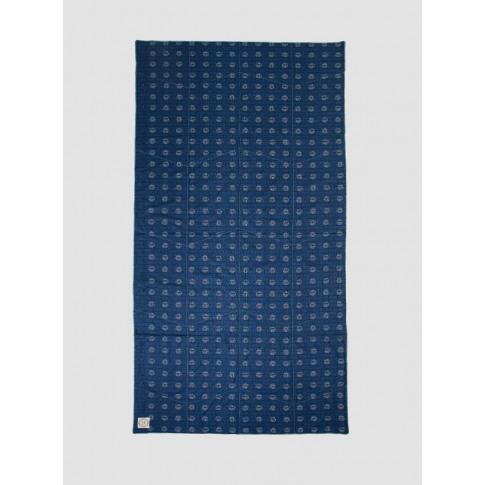 Khadi & Co Indigo Circle Blanket