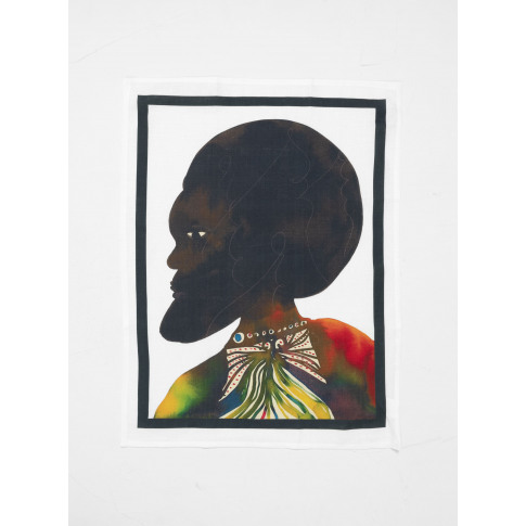 Third Drawer Down Chris Ofili Afromuses Man Tea Towel