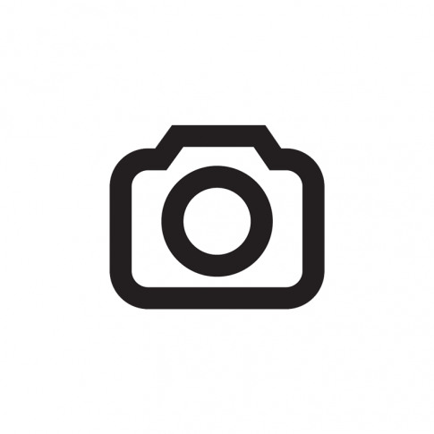 Deluxe 5ft King Size Divan Bed Base Only In White Damask Fabric