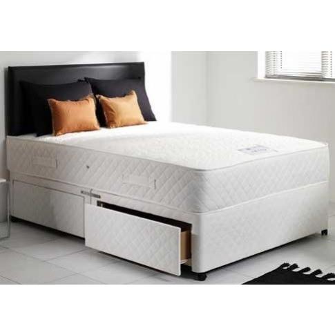 Mayfair Orthopaedic Memory Foam 3ft Single Divan Bed