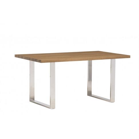 Naples Oak 120cm Rectangular Dining Table