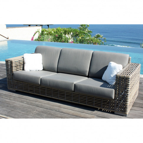Skyline Castries Rattan 3 Seater Sofa