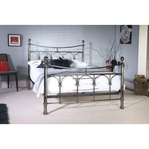 Limelight Gamma Metal 5ft Kingsize Bed Frame