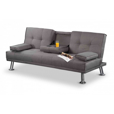 Naples Grey Fabric Sofa Bed