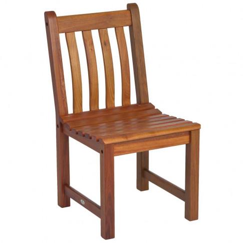 Monte Carlo Dark Solid Oak Dining Chair