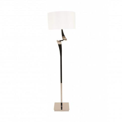 Rv Astley Enzo Nickel Floor Lamp