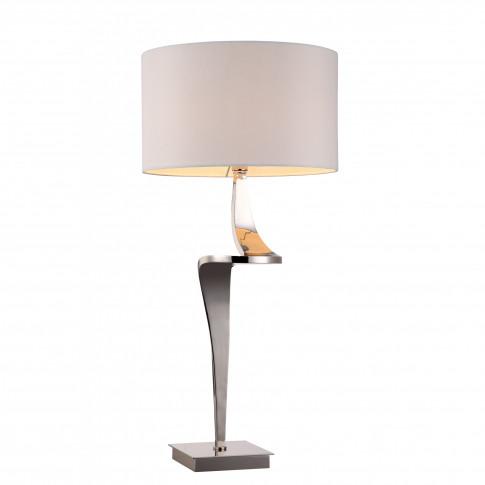 Rv Astley Enzo Nickel Table Lamp (Right)